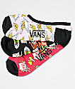 Vans Canoodle Take Out 3 Pack calcetines invisibles