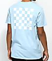 Vans Check Set camiseta azul claro