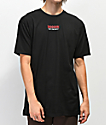 Vans Checkerboard camiseta negra