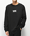 Vans Checkmate III Black Long Sleeve T-Shirt