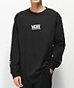 Vans Checkmate III camiseta negro de manga larga