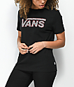 Vans Cherry Checkerboard Black T-Shirt
