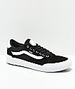 Vans Chima Pro 2 Black & White Suede Shoes