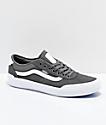 Vans Chima Pro 2 Pewter & White Skate Shoes