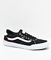 Vans Chima Pro 2 zapatos de skate en blanco y negro
