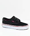 Vans Chima Pro Black, White & Chili Pepper Skate Shoes