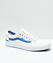Vans Chima Pro II Center Court Blue & White Skate Shoes