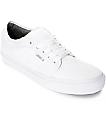 Vans Chukka Low 10 Oz zapatos de lienzo blanco