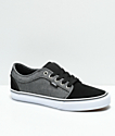 Vans Chukka Low Black & Dark Grey Shoes