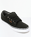 Vans Chukka Low Canvas Black & White Skate Shoes