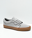 Vans Chukka Low Drizzle Grey & Gum Skate Shoes