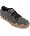 Vans Chukka Low Oxford Black & Gum Skate Shoes
