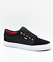 Vans Chukka Low Pro Black, White & Chili Pepper Skate Shoes