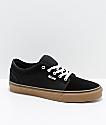 Vans Chukka Low Pro Black & Gum Skate Shoes