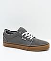 Vans Chukka Low Pro Pewter zapatos de skate en gris y goma