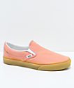 Vans Classic Slip On Muted Clay & Gum Shoes