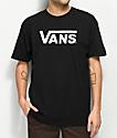 Vans Classic camiseta negra y blanca