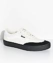Vans Crockett 2 White & Black Skate Shoes