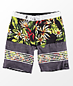 Vans Era Black & Floral Board Shorts