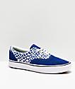 Vans Era ComfyCush Tear Blue & White Skate Shoes