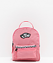 Vans Expedition 2 Pink & Microcheckerboard Mini Backpack