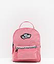 Vans Expedition 2 mini mochila rosa de cuadros