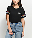 Vans Flame Checker Black T-Shirt