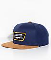 Vans Full Patch Dress Blue & Dark Khaki Snapback Hat