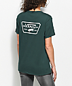 Vans Full Patch Green Boyfriend T-Shirt