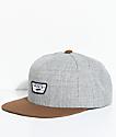 Vans Full Patch II Grey & Brown Snapback Hat