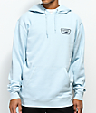 Vans Full Patch Light Blue Fleece Hoodie