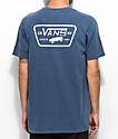 Vans Full Patch Navy & White T-Shirt