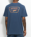 Vans Full Patch camiseta en azul marino