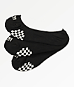 Vans Girly paquete de 3 calcetines negros invisibles