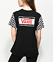 Vans Go Forward Checker Black T-Shirt
