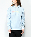 Vans Gradient Checkerboard Blue Hoodie