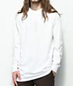 Vans Grand V camiseta blanca de manga larga