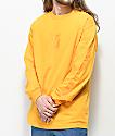 Vans Grand V camiseta dorada de manga larga