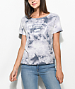 Vans Grey Ridge Full Patch Cloudwash camiseta gris