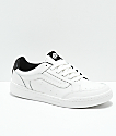 Vans Highland Sporty Blanc & Black Skate Shoes