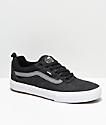 Vans Kyle Walker Pro Black, Pewter & White Denim Skate Shoes