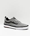 Vans Kyle Walker Pro Covert Drizzle Grey, Black & White Skate Shoes