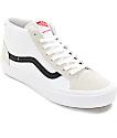 Vans Mid Skool Pro White & Black Skate Shoes