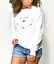 Vans OTW Confetti White Crew Neck Sweatshirt