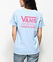 Vans OTW Light Blue & Pink T-Shirt