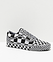 Vans Old Skool All Over Checkerboard Black & White Skate Shoes