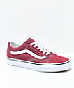 Vans Old Skool Apple Butter & White Skate Shoes