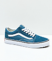 Vans Old Skool Corsair & True White Skate Shoes