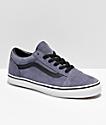 Vans Old Skool Grisaille zapatos de skate de ante