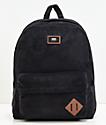 Vans Old Skool II Black Corduroy Backpack
